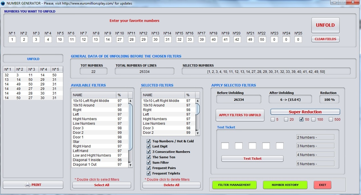 number generator euromillions play software